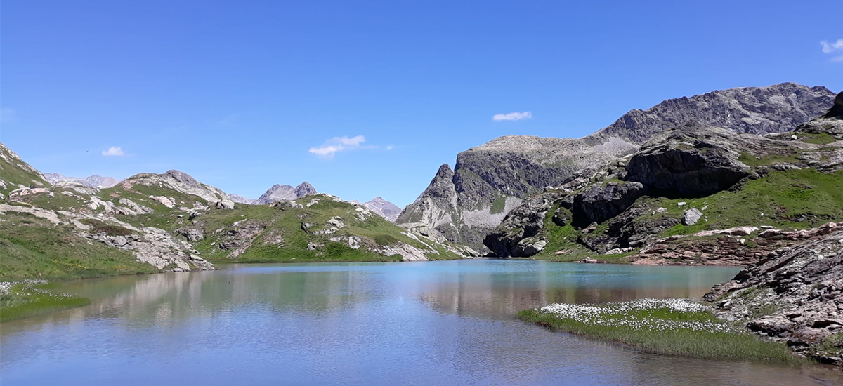 Lago Alpino Julier Pass